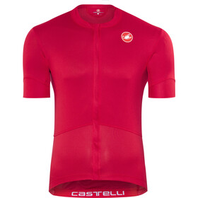 Castelli Imprevisto Nano Kortärmad cykeltröja Herr röd